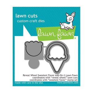 Lawn Fawn Reveal Wheel Sweetest Flavor Add-On Dies