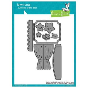Lawn Fawn Shadow Box Card Theater Add-on Lawn Cuts