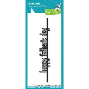 Lawn Fawn Father's Day Line Border