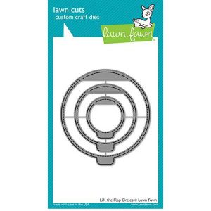 Lawn Fawn Lift the Flap Circles Lawn Cuts