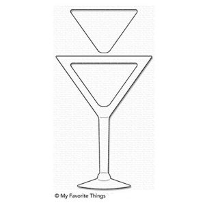 My Favorite Things Martini Shaker Window & Frame