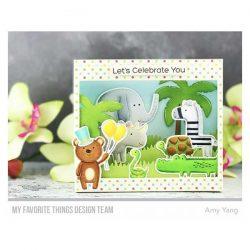 My Favorite Things Safari Party Stamp Set