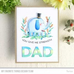 My Favorite Things All About Dad Stamp Set