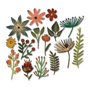 Sizzix Funky Floral #3 Thinlits by Tim Holtz