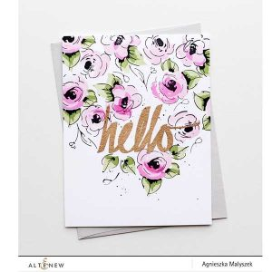 Altenew Rose Gold Crisp Embossing Powder class=