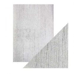 Tonic Studios Silver Silk Luxury Embossed Paper Pack