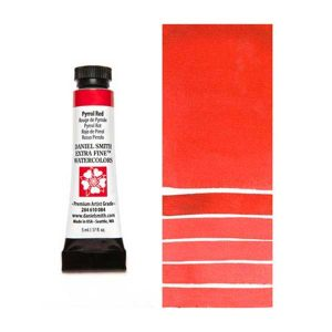 Daniel Smith 5ml Extra Fine Watercolor - Pyrrol Red class=