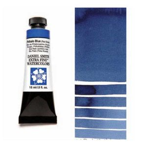 Daniel Smith 15ml Extra Fine Watercolor – Phthalo Blue RS class=