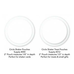 My Favorite Things Circle Shaker Treat Pouches class=