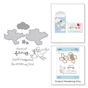 Spellbinders New Arrival Stamp and Die Set class=