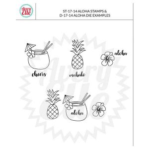 Avery Elle Aloha Stamp Set class=