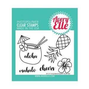 Avery Elle Aloha Stamp Set