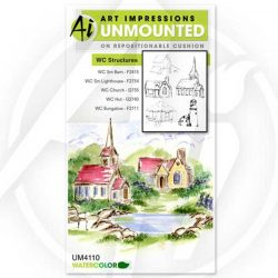 Art Impressions Watercolor Structures
