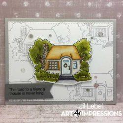 Art Impression Cottage TryFold Stamp Set