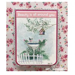 Art Impressions WC Branches Stamp Set
