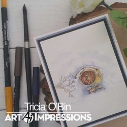 Art Impressions WC Tree Set 1