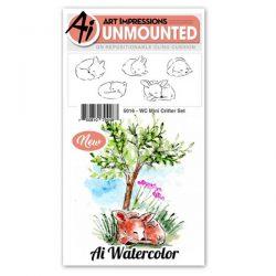 Art Impressions WC Mini Critter Set Stamp