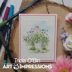 Art Impressions WC Cobblestone Stamp Set