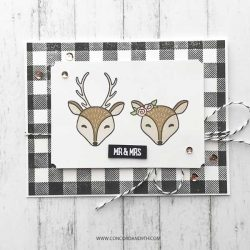 Concord & 9th Furry Friends Stamp Set