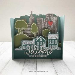 Concord & 9th City Stacks Stamp Set