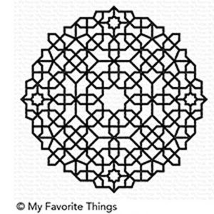 My Favorite Things Moroccan Mosaic Background