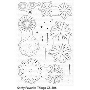 My Favorite Things Fireworks Stamp Set