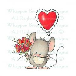 Whipper Snapper Valentine Mouse Stamp