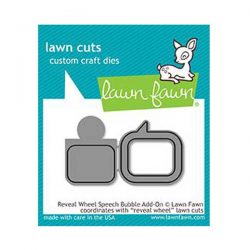 Lawn Fawn Reveal Wheel Speech Bubble Add-on