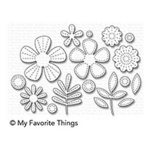 My Favorite Things Stitched Blooms Die-namics