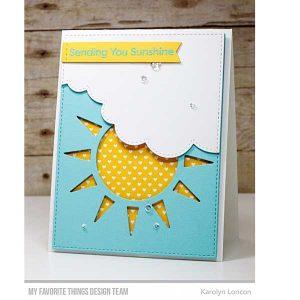 My Favorite Things Sunshine Shaker Die-namics class=