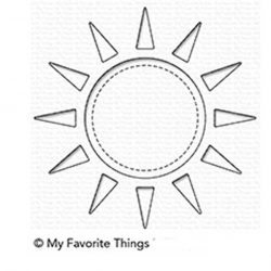 My Favorite Things Sunshine Shaker Die-namics