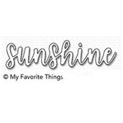 My Favorite Things Sunshine Die-namics