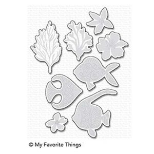 My Favorite Things Adorned Ocean Friends Die-namics