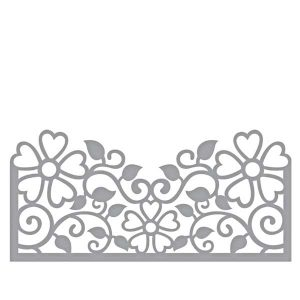 Spellbinders Side Floral Panel Die Set
