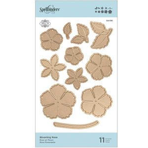 Spellbinders Blooming Rose Die Set