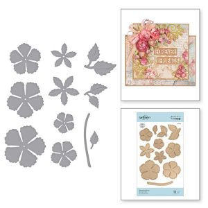 Spellbinders Blooming Rose Die Set class=
