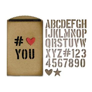 Tim Holtz Gift Card Bag Thinlets