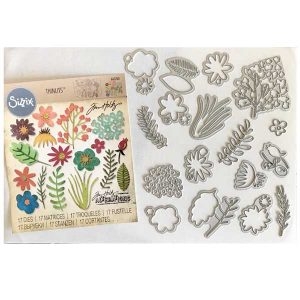 Tim Holtz Funky Floral #1 Thinlets class=