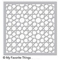 My Favorite Things Geometric Stars Stencil