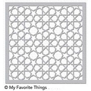 My Favorite Things Geometric Stars Stencil