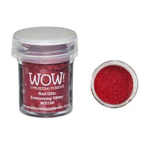 WOW! Red Glitz Embossing Glitter class=