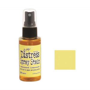 Tim Holtz Distress Spray Stain – Squeezed Lemonade class=