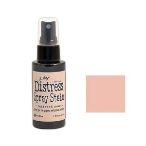 Tim Holtz Distress Spray Stain – Tattered Rose class=