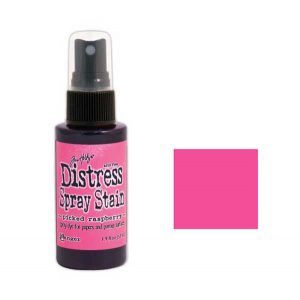 Tim Holtz Distress Spray Stain – Picked Raspberry class=