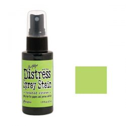 Tim Holtz Distress Spray Stain – Twisted Citron