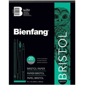 Bienfang Bristol Paper Pad - Smooth Finish