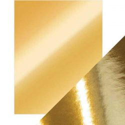 Tonic Studios Craft Perfect Mirror Card High Gloss - Polished Gold