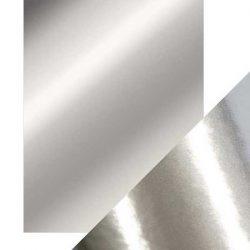 Tonic Studios Craft Perfect Mirror Card High Gloss - Chrome Silver