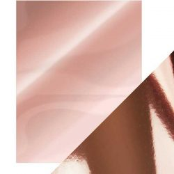 Tonic Studios Craft Perfect Mirror Card High Gloss - Rose Platinum