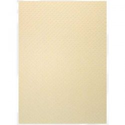 Tonic Studios Craft Perfect Hand Crafted Cotton Paper – Champagne Harlequin